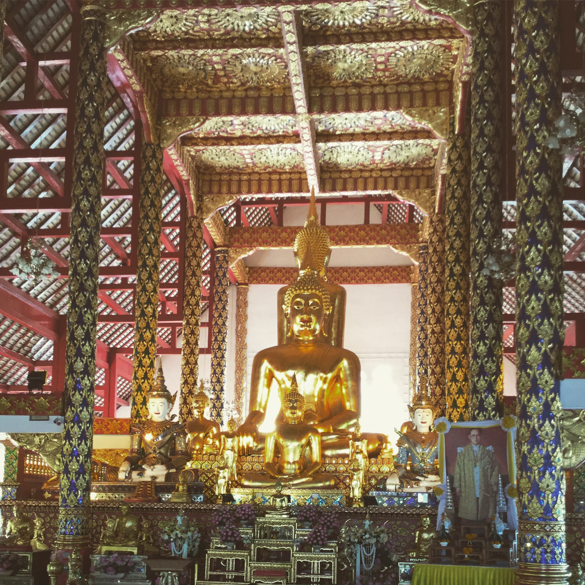 The temple at Doi Suthep